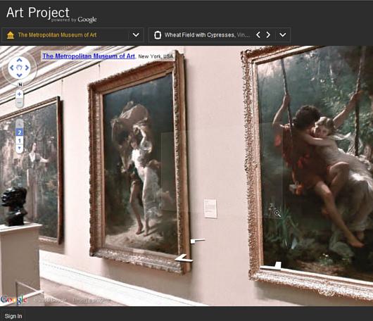 ストリート・ビューでメトロポリタン美術館のバーチャルお散歩を楽しめます Google Art Project_b0007805_3533144.jpg