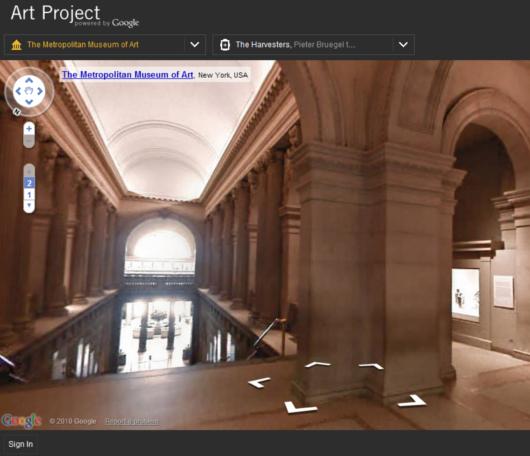 ストリート・ビューでメトロポリタン美術館のバーチャルお散歩を楽しめます Google Art Project_b0007805_5343754.jpg