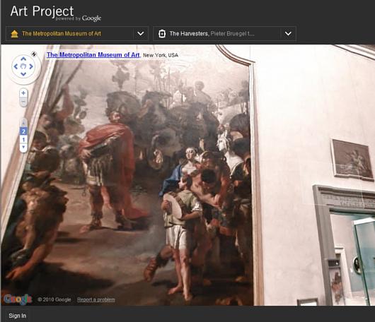 ストリート・ビューでメトロポリタン美術館のバーチャルお散歩を楽しめます Google Art Project_b0007805_5382797.jpg