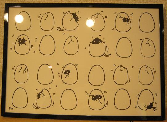 ☆15周年記念企画展「卵・TAMAGO・たまご」開催☆その3 _e0134502_19114718.jpg