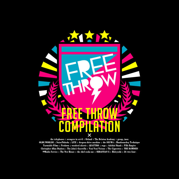 "3/13(sun) \""FREE THROW VOL50 Anniversary&『FREE THROW COMPILATION』Release Party!\""@新木場STUDIO COAST_e0153779_16155963.jpg"