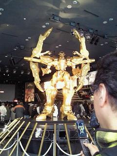 今日は「SANKYO 創聖のアクエリオン」プレミアムイベントでした。_e0049681_23163158.jpg