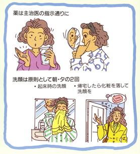 2011年1月25日教室 『ニキビの原因と治療 -ニキビでお悩みのあなたへ-』_c0219616_173723100.jpg