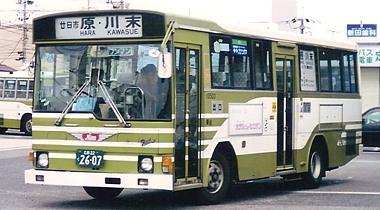 広島電鉄のレインボー 2題_e0030537_20363870.jpg