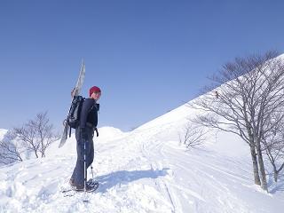 エキスパートツアー@谷川岳_a0150951_20305446.jpg
