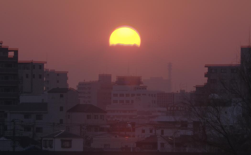 ダイヤモンド富士・葛飾区東四つ木_a0150260_0555580.jpg