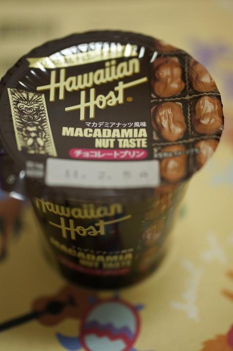 Hawaiian Host チョコレートプリン と 今さらながらのハワイ土産^^;_f0189086_20154011.jpg