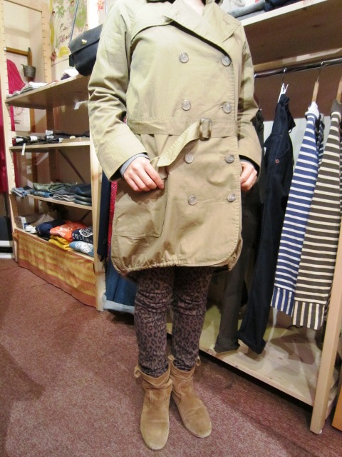 "Westwood Outfitters ""フィッシュテール トレンチコート\"" 入荷!_f0191324_325667.jpg"