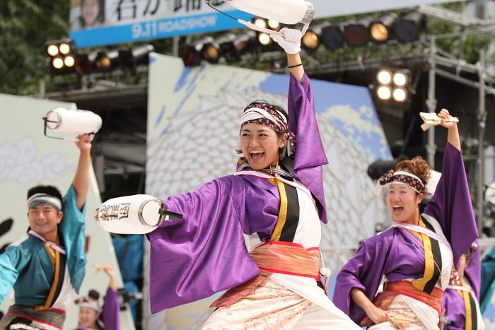 2010年よさこい祭り 全国大会 風舞輝~fubuki~ その2_a0077663_1873979.jpg