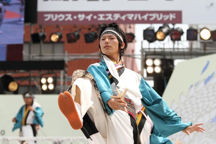 2010年よさこい祭り 全国大会 風舞輝~fubuki~ その2_a0077663_1875713.jpg