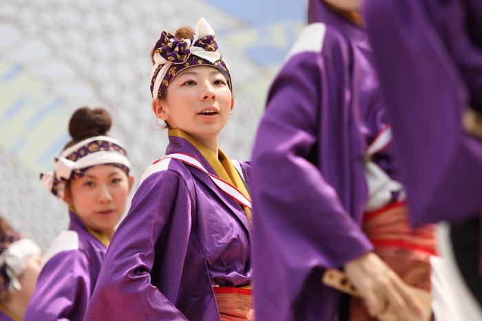 2010年よさこい祭り 全国大会 風舞輝~fubuki~ その2_a0077663_1881539.jpg