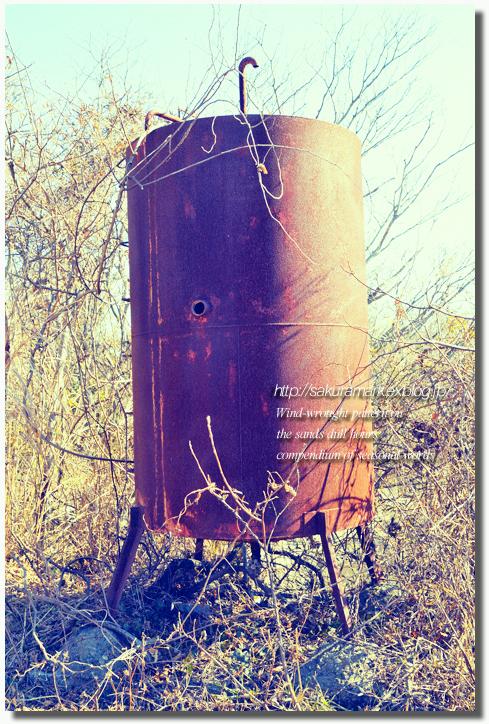 2011 冬の記憶 №09 ~廃タンクのある廃屋へ・・・~_f0235723_16135068.jpg