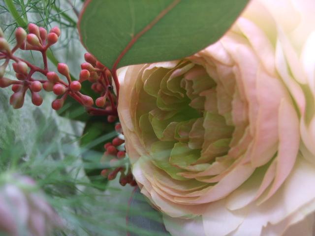 オークリーフ(淡色トーンの花束)_f0049672_1774975.jpg