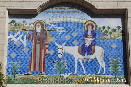 エジプトのコプト教会_a0086851_1301583.jpg