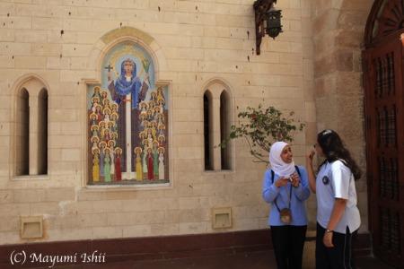 エジプトのコプト教会_a0086851_132916.jpg