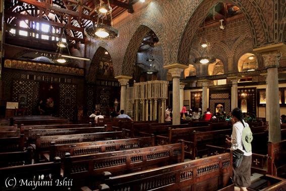 エジプトのコプト教会_a0086851_1361550.jpg