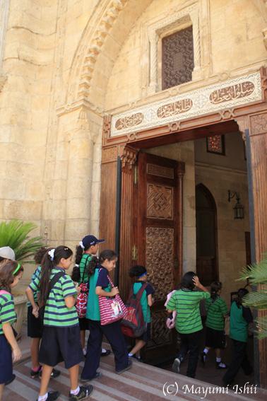 エジプトのコプト教会_a0086851_1505535.jpg