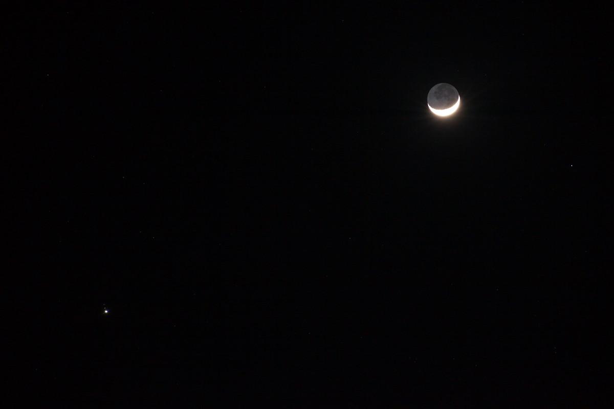 月と木星の接近_b0191074_19521797.jpg