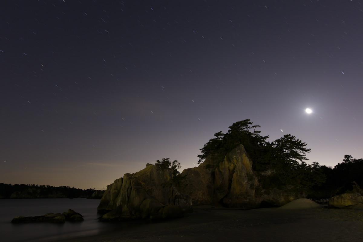 月と木星の接近_b0191074_19533963.jpg