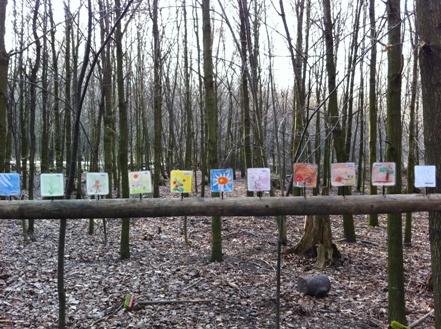 ポーイングの森の幼稚園を訪れました☆_f0037258_1334275.jpg