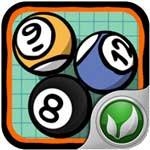 iPhone無料アプリ Doodle Pool_d0174998_10342616.jpg