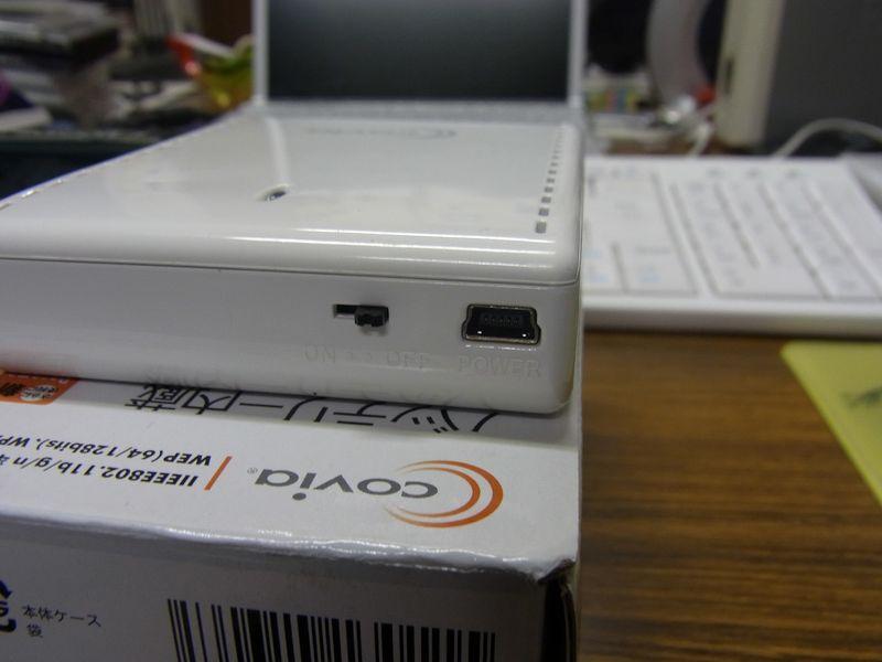 ドッチーカをモバイル無線ルーターにつなぐ_c0025115_19161110.jpg
