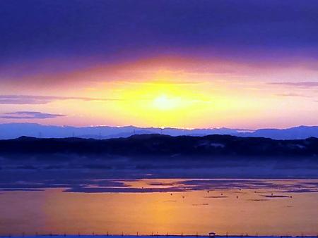 日の出と『もしドラ』_c0217582_21394916.jpg