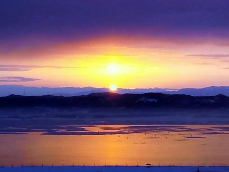 日の出と『もしドラ』_c0217582_21401182.jpg