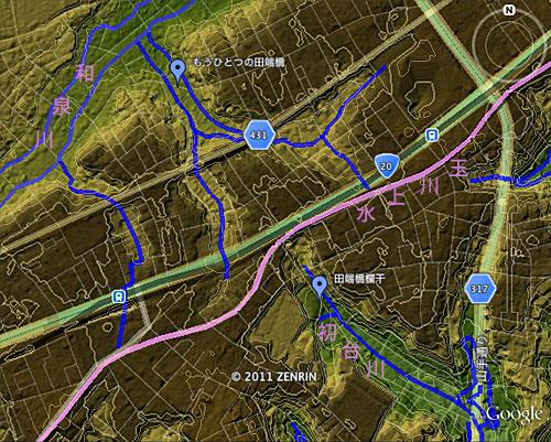 「道角橋」と「田端橋」–失われた川に架かっていた2つの石橋の運命_c0163001_1948695.jpg