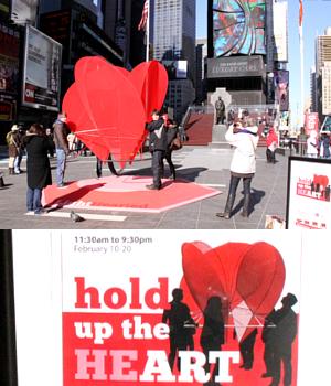 NYのバレンタイン、みんなで支えるハート型のパブリック・アートがついに登場!_b0007805_23542544.jpg
