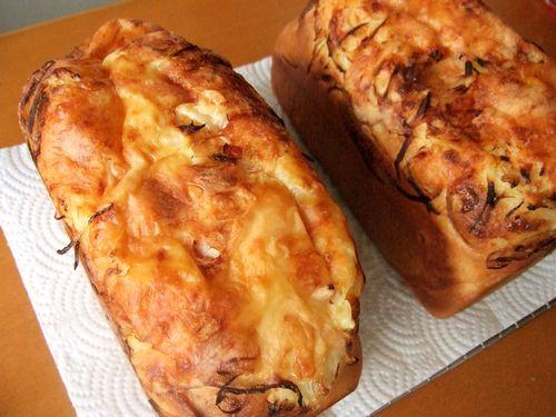 マーブルパン&オニオンチーズベーコンパン_e0160246_15275681.jpg