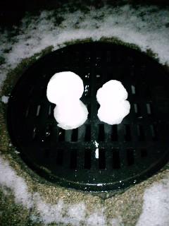 雪だるま!_d0137764_1746767.jpg