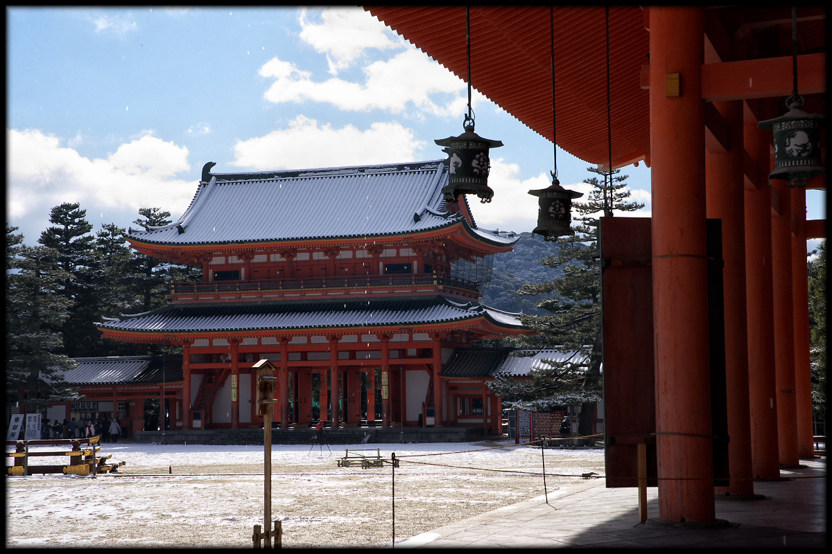 雪景色 <平安神宮>_f0021869_231523.jpg