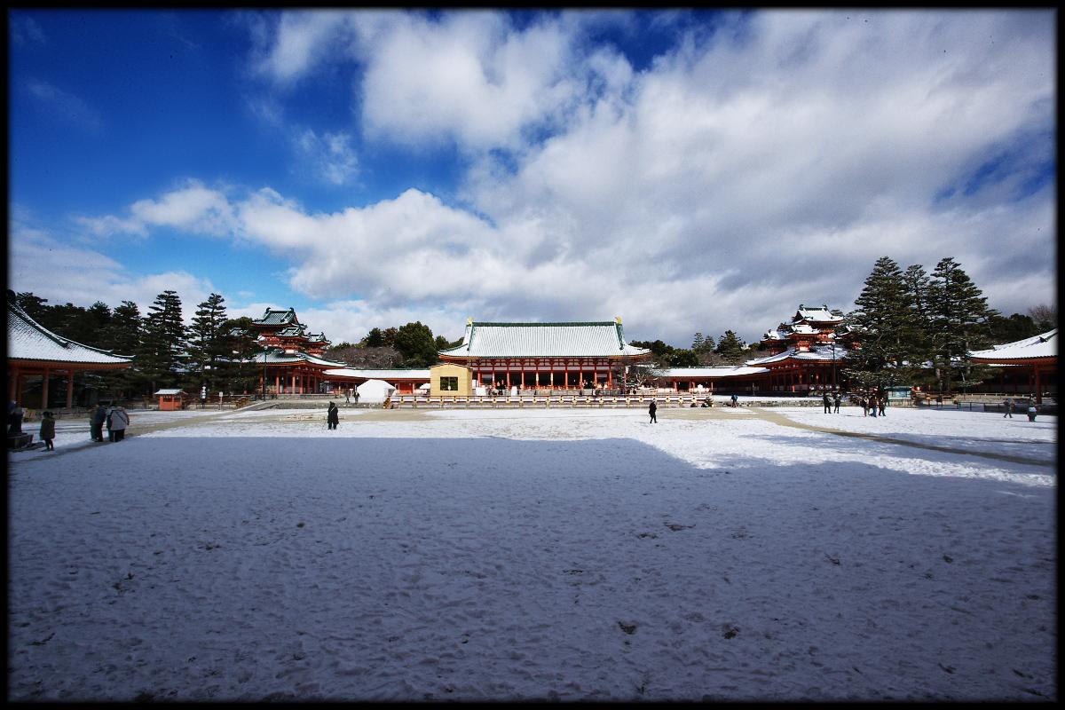雪景色 <平安神宮>_f0021869_23231.jpg