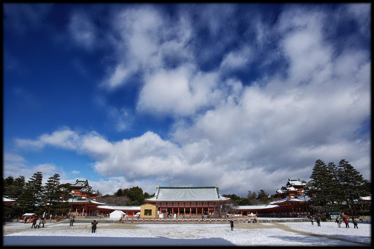 雪景色 <平安神宮>_f0021869_2323282.jpg