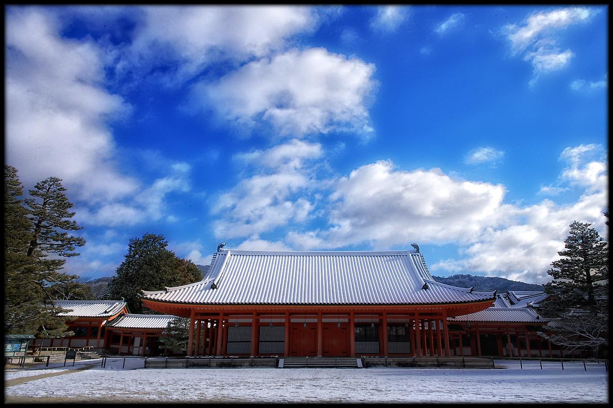 雪景色 <平安神宮>_f0021869_2331689.jpg