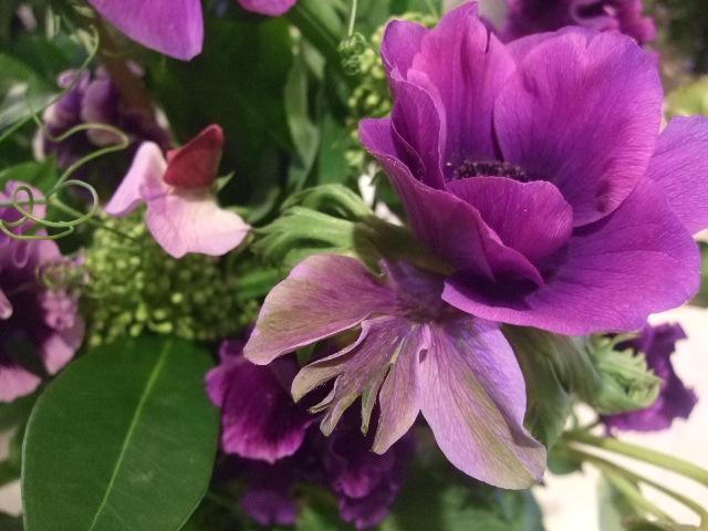 オークリーフ花の教室(富田さんと、島崎さんの作品)_f0049672_17152422.jpg