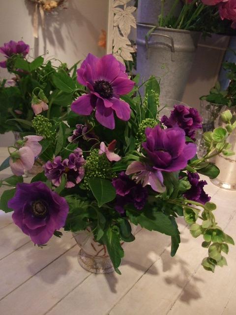 オークリーフ花の教室(富田さんと、島崎さんの作品)_f0049672_178733.jpg