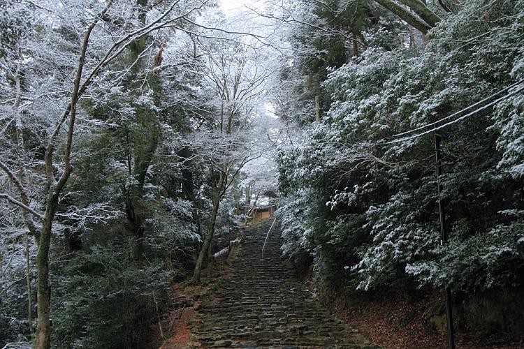 雪の神護寺_e0051888_21383450.jpg