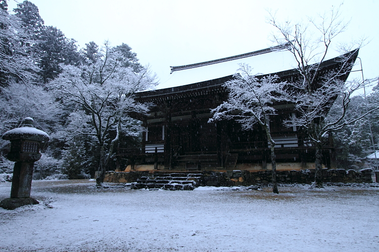 雪の神護寺_e0051888_21411576.jpg