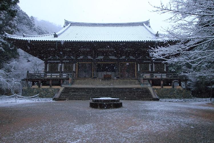 雪の神護寺_e0051888_21421338.jpg