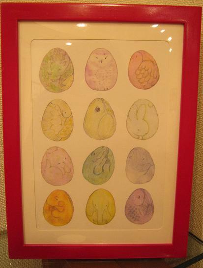 ☆15周年記念企画展「卵・TAMAGO・たまご」開催☆ その8_e0134502_15245100.jpg
