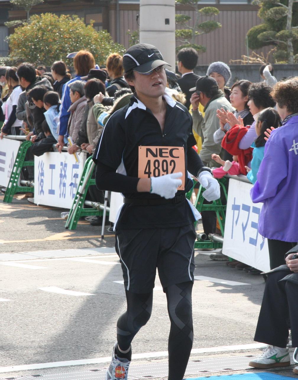 第16回 adidas・紀州口熊野マラソン(2011年2月6日) _f0065517_12591638.jpg