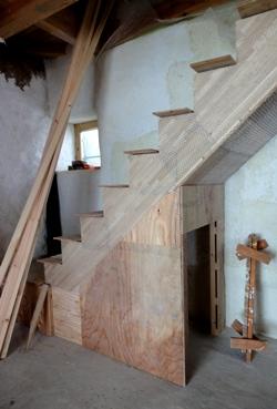 階段下の。。。_e0214436_881558.jpg