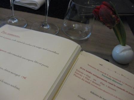 Le Gaigne マレ地区の小さなレストラン_d0156457_9231673.jpg