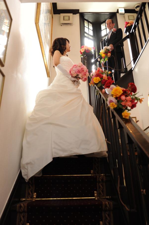 新郎新婦様からのメール  鮮やかな花 生きている花 シェ松尾松濤レストラン様_a0042928_14492127.jpg
