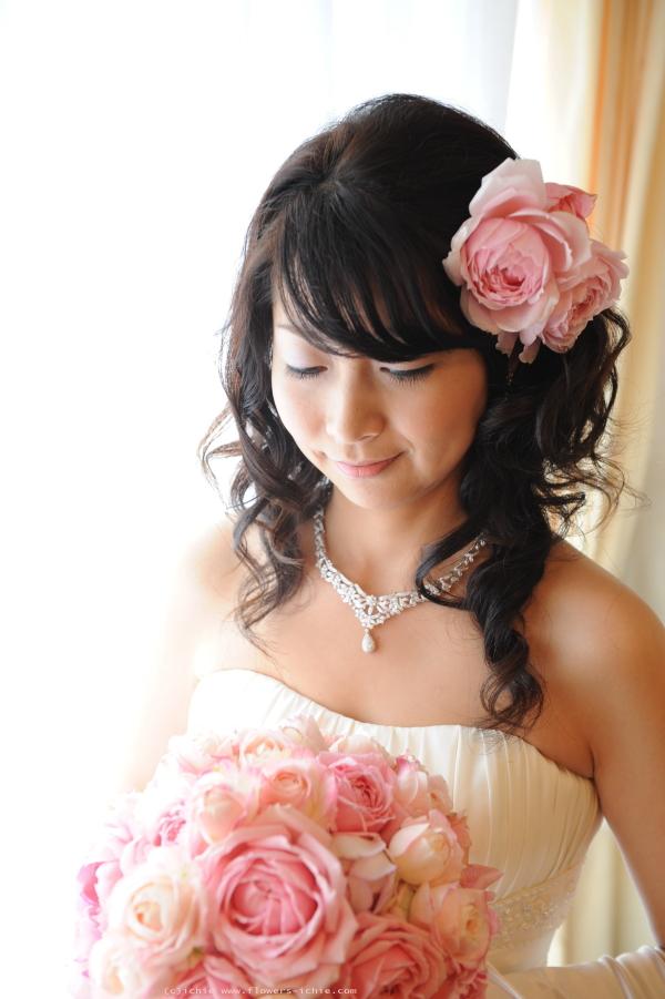 新郎新婦様からのメール  鮮やかな花 生きている花 シェ松尾松濤レストラン様_a0042928_1449971.jpg