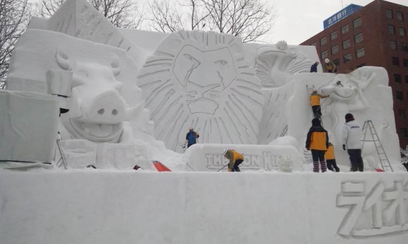 雪祭りが今日終わりました!_f0209045_2091613.jpg