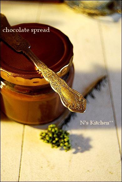 トリュフみたいなチョコレートスプレッド と、お知らせ_a0105872_21225028.jpg