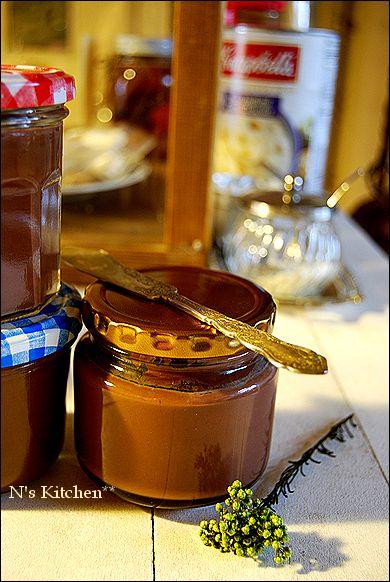 トリュフみたいなチョコレートスプレッド と、お知らせ_a0105872_21232231.jpg